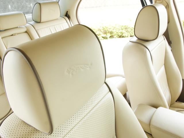 XJ 3.0ラグジュアリーリミテッド X358最終モデル・国内30台限定車・2オーナー・純正20インチ(Takoba)HID・クリアランスソナー・アメリカンカールウッド・ソフトグレインレザー・シートエアコン&ヒーター・16ウェイ電動シート(55枚目)