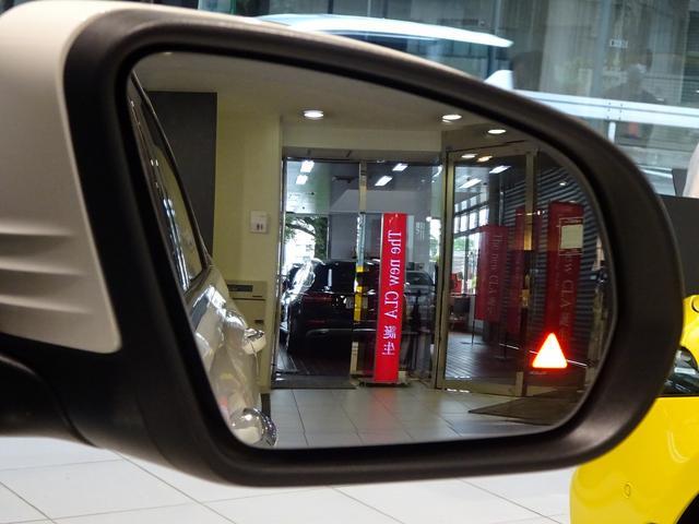 レーダーセーフティパッケージ、斜め後方の車両を感知し運転者に知らせるブラインドスポットアシスト。