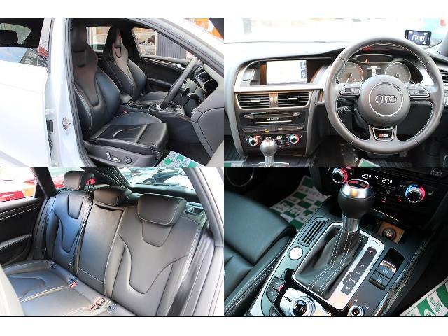 アウディ アウディ S4アバント ベースグレード ワンオーナー純正HDDナビ黒革シートワンセグ