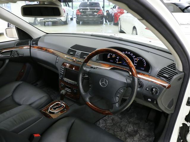 メルセデス・ベンツ M・ベンツ S500 ガラスサンルーフ 黒本革 1オーナー ナビ