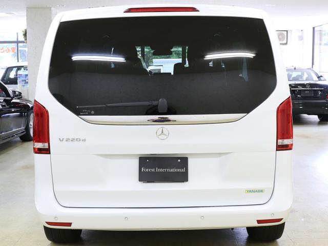 V220dセーフティ&レザーPKG新車保証360カメラ黒本革(7枚目)