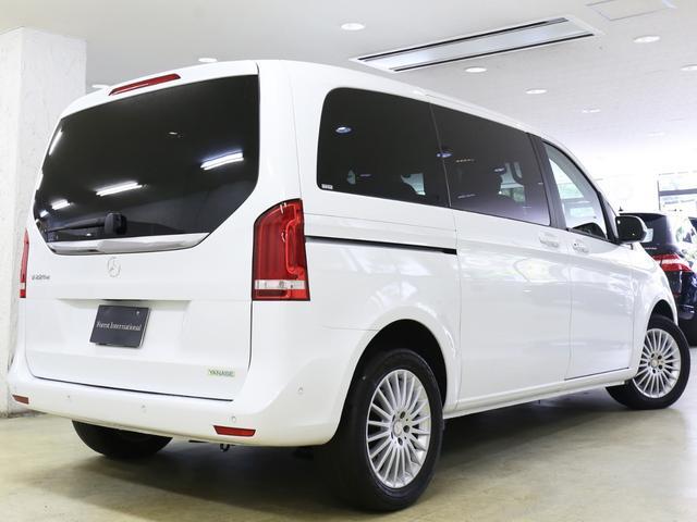 V220dセーフティ&レザーPKG新車保証360カメラ黒本革(10枚目)