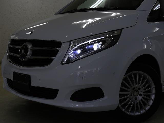 V220dセーフティ&レザーPKG新車保証360カメラ黒本革(11枚目)