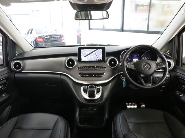 V220dセーフティ&レザーPKG新車保証360カメラ黒本革(14枚目)