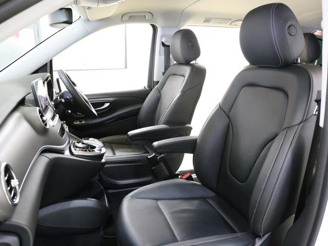 V220dセーフティ&レザーPKG新車保証360カメラ黒本革(15枚目)