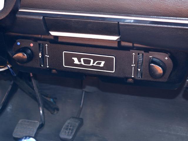 プジョー プジョー 104 初期型 954cc 国内未登録