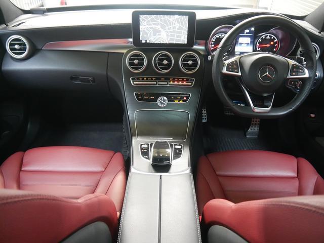 メルセデス・ベンツ M・ベンツ C250s AMGレザーEX RSP 赤革パノラマ 新車保証