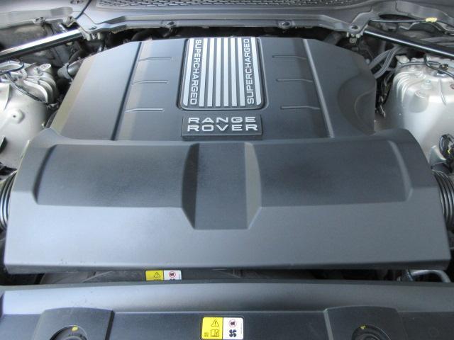 3.0 V6 スーパーチャージド ヴォーグ 本革シート 純正ナビ 電動オートステップ アダプティブクルーズコントロール メリディアンサウンド プレミアムメタリック 2オーナー車 正規ディーラー車 右ハンドル 記録簿付(17枚目)