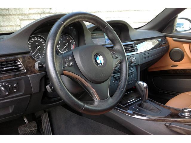 BMW BMW 335iカブリオレ タンレザー 1オナ 左H HDDナビ