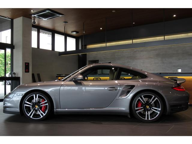ポルシェ ポルシェ 911ターボ スポクロ 右H SR 1オナ パドルシフト