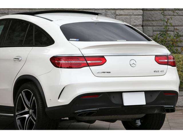 GLE43 4マチック クーペ 左ハンドル 新車保証継承(11枚目)