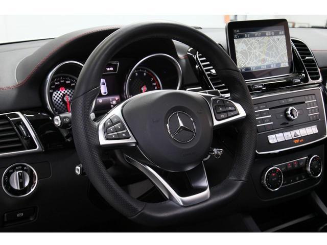 GLE43 4マチック クーペ 左ハンドル 新車保証継承(14枚目)