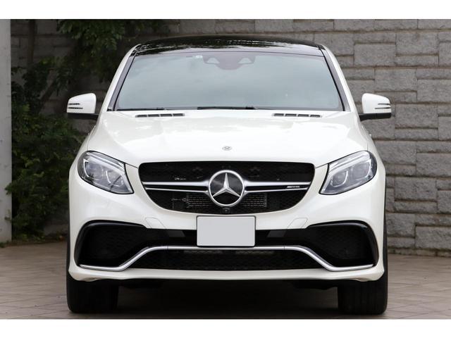 GLE63 S 4マチック クーペ AMGエクスクルーシブPKG Bang&Olfsenサウンド カーボンインテリア 黒革 サンルーフ 新車保証付(5枚目)
