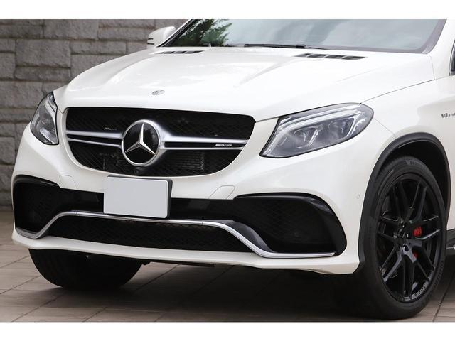 GLE63 S 4マチック クーペ AMGエクスクルーシブPKG Bang&Olfsenサウンド カーボンインテリア 黒革 サンルーフ 新車保証付(10枚目)