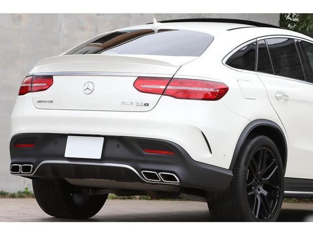 GLE63 S 4マチック クーペ AMGエクスクルーシブPKG Bang&Olfsenサウンド カーボンインテリア 黒革 サンルーフ 新車保証付(11枚目)