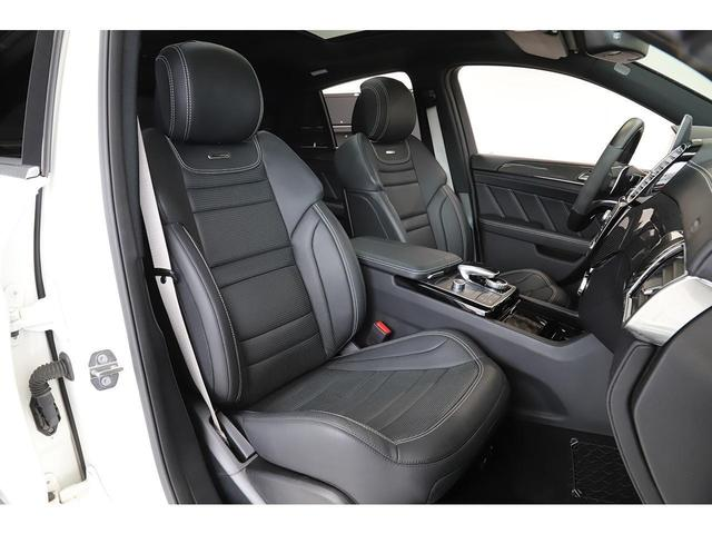 GLE63 S 4マチック クーペ AMGエクスクルーシブPKG Bang&Olfsenサウンド カーボンインテリア 黒革 サンルーフ 新車保証付(14枚目)