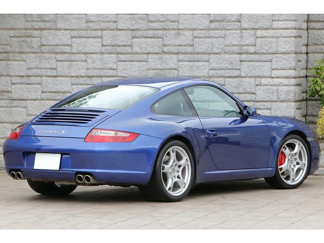 希少カラー「コバルトブルーメタリック」が選択された車両程度も良好な「997カレラS」が入庫致しました!