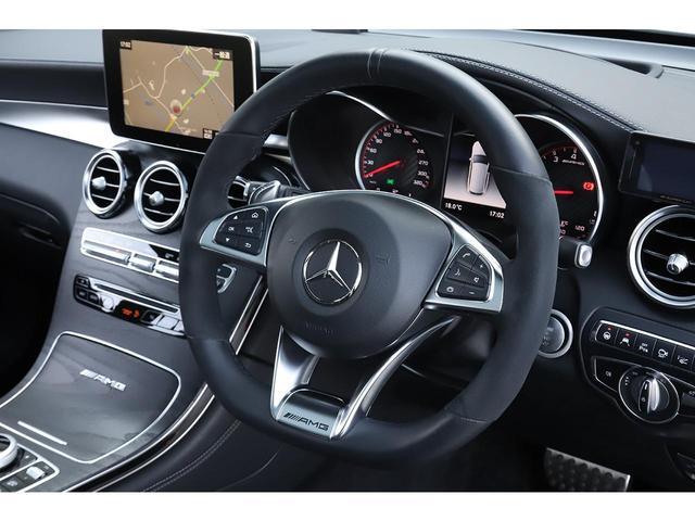 GLC63 S 4マチック+ パナメリカーナグリル パノラマサンルーフ 純正21インチAW ブルメスターサウンド ミーコネクト 新車保証付(14枚目)