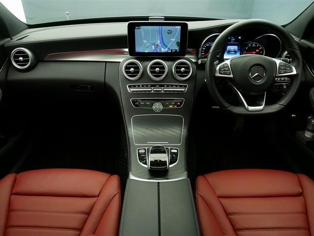 C200 アバンギャルド AMGライン レザーエクスクルーシブパッケージ レーダーセーフティパッケージ 2年保証 新車保証(11枚目)