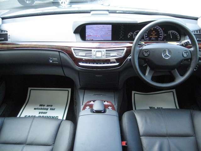メルセデス・ベンツ M・ベンツ S350 ワンオーナー 禁煙車 ディーラー整備記録簿 黒革