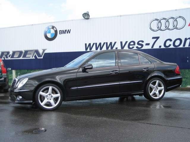 メルセデス・ベンツ M・ベンツ E350 アバンギャルドS 2007モデル 黒革 タイヤ新品
