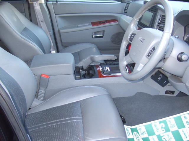 クライスラー・ジープ クライスラージープ グランドチェロキー リミテッド 5.7 SR 本革S HDDナビ