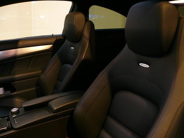 C63AMGクーペ 正規D車 1オナ Pスタ 黒革 2年保証(10枚目)