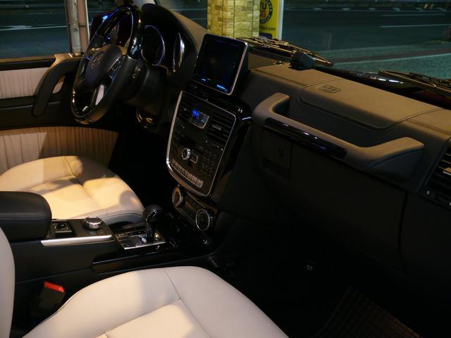G550デジーノインテリア 白革 SR ナビTV 2年保証(6枚目)