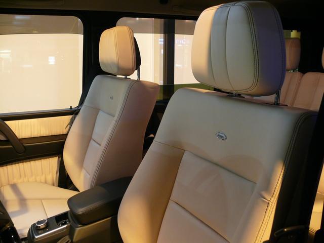 G550デジーノインテリア 白革 SR ナビTV 2年保証(10枚目)