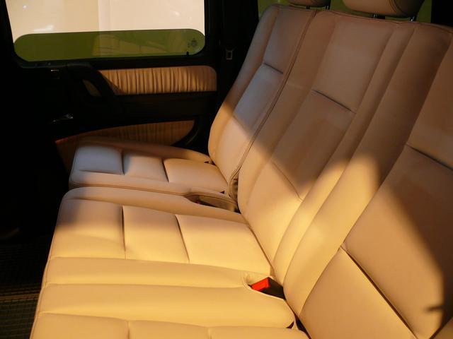 G550デジーノインテリア 白革 SR ナビTV 2年保証(13枚目)