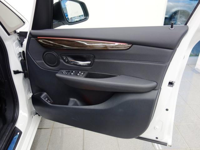 BMW BMW 220iグランツアラー ラグジュアリー ブラックレザーシート