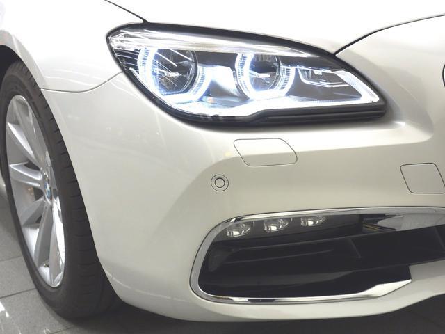 BMW BMW 640iグランクーペ アイボリーホワイト ACC 地デジ