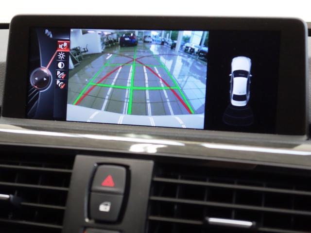 リヤビューカメラはガイドライン付き ハンドル操作に応じて進行方向を示してくれます。車庫入れもスムーズです。