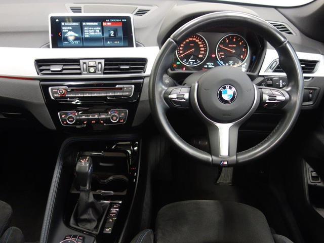 xDrive 18d Mスポーツ パノラマガラスサンルーフ コンフォートアクセス リヤビューカメラ パークディスタンスコントロール ドライバーアシスト HiFiスピーカー ETC付ルームミラー 18インチダブルスポークアロイホィール(2枚目)