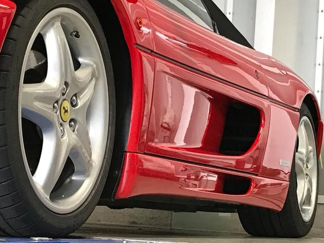 フェラーリ フェラーリ 355F1 スパイダーF1 EU新車並行 タンレザー内装 可変マフラー