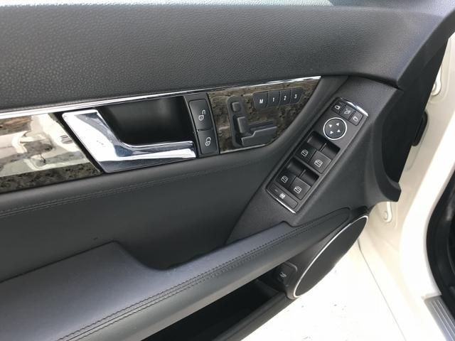 メルセデス・ベンツ M・ベンツ C63 AMG 左ハンドル ブラックレザー サンルーフ