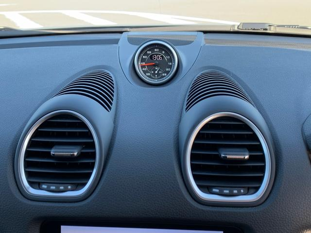 718ボクスター 1オーナー 6MT スポーツクロノ PTV(8枚目)