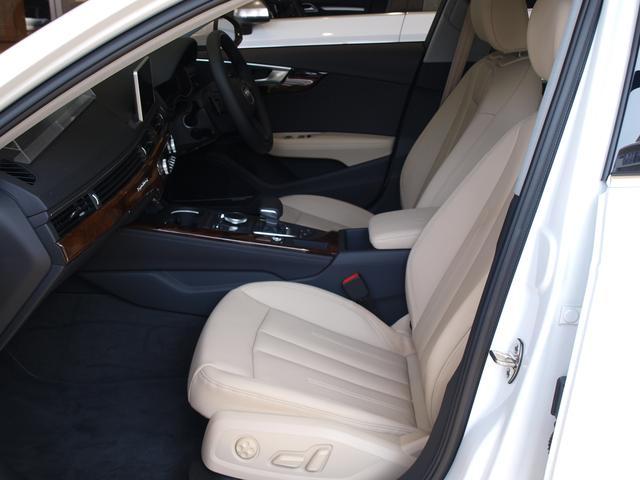 アウディ アウディ A4アバント クワトロベージュ本革バング&OマトリクスLED認定中古車