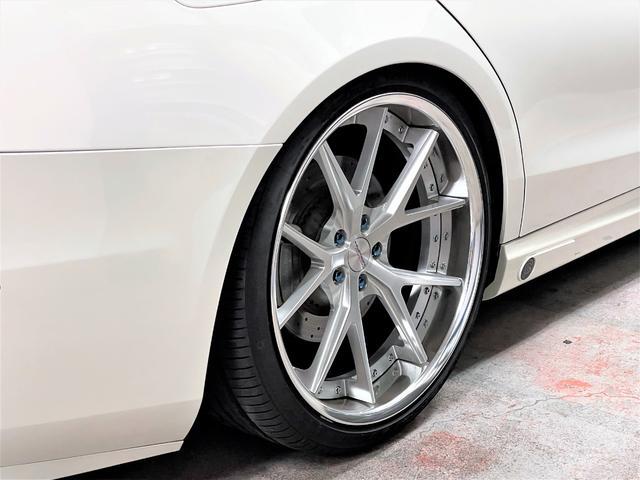 S560 4マチックロング AMGライン フルエアロ 21インチAW ローダウン 白革内装(10枚目)