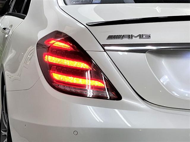 S550ロング デジーノウッド 白革内装 ショーファーP 後期ライト(7枚目)