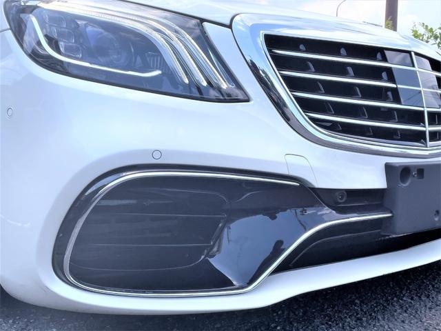 S550ロング デジーノウッド 白革内装 ショーファーP 後期ライト(23枚目)