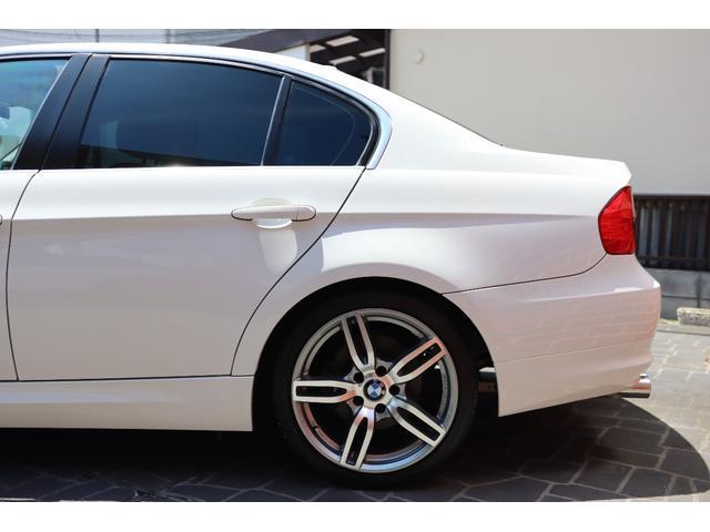 320i ハイラインパッケージ 後期直噴170馬力モデル BMWパフォーマンスマフラー スポーツテクニック18インチ 黒革シート(11枚目)