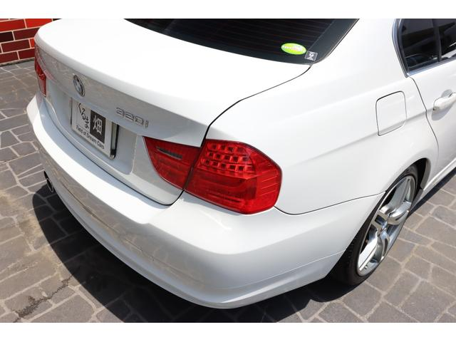 320i ハイラインパッケージ 後期直噴170馬力モデル BMWパフォーマンスマフラー スポーツテクニック18インチ 黒革シート(18枚目)