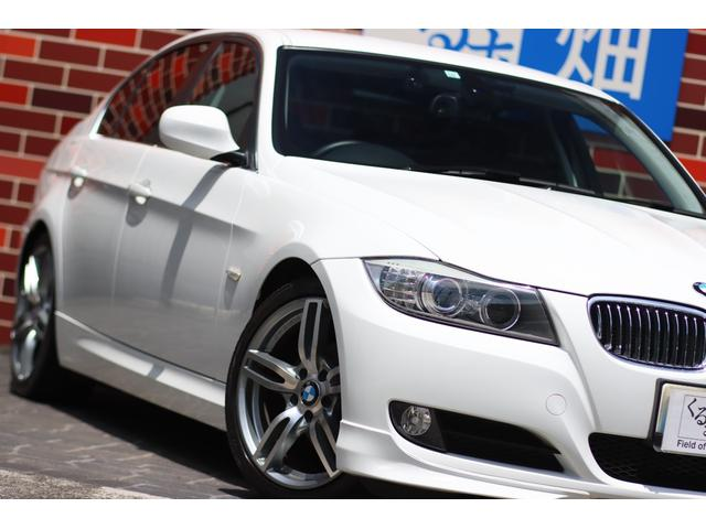320i ハイラインパッケージ 後期直噴170馬力モデル BMWパフォーマンスマフラー スポーツテクニック18インチ 黒革シート(19枚目)