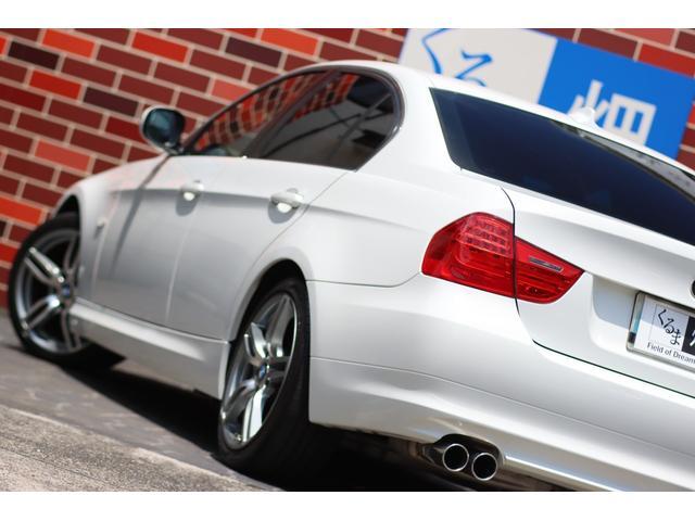 320i ハイラインパッケージ 後期直噴170馬力モデル BMWパフォーマンスマフラー スポーツテクニック18インチ 黒革シート(20枚目)