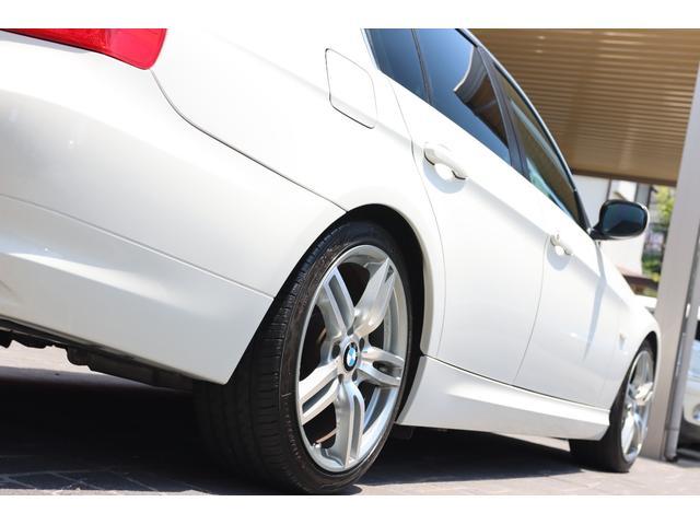320i ハイラインパッケージ 後期直噴170馬力モデル BMWパフォーマンスマフラー スポーツテクニック18インチ 黒革シート(21枚目)