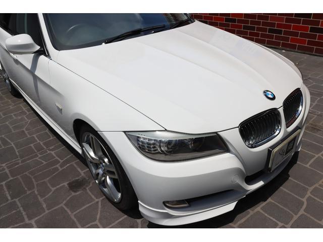 320i ハイラインパッケージ 後期直噴170馬力モデル BMWパフォーマンスマフラー スポーツテクニック18インチ 黒革シート(22枚目)