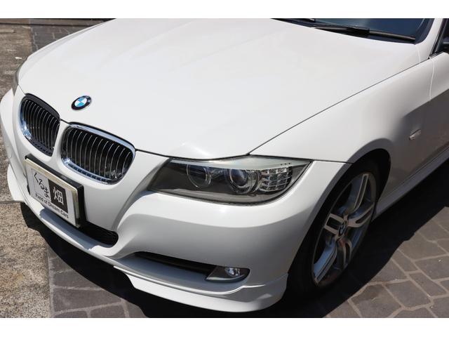 320i ハイラインパッケージ 後期直噴170馬力モデル BMWパフォーマンスマフラー スポーツテクニック18インチ 黒革シート(24枚目)