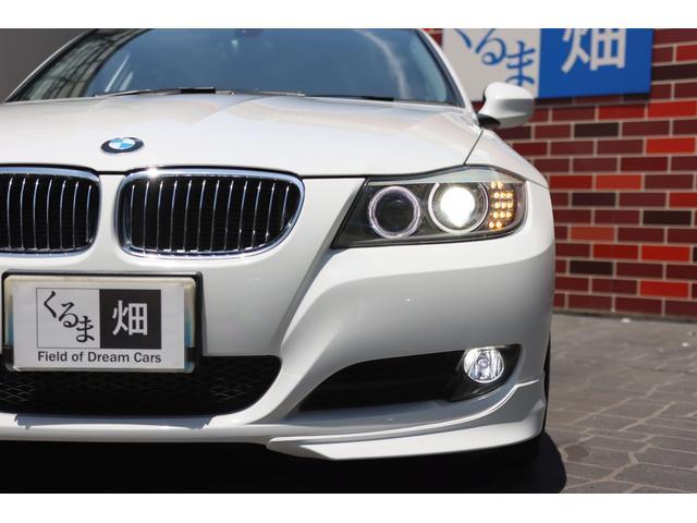 320i ハイラインパッケージ 後期直噴170馬力モデル BMWパフォーマンスマフラー スポーツテクニック18インチ 黒革シート(25枚目)