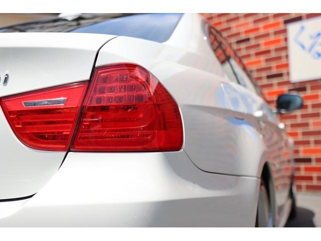 320i ハイラインパッケージ 後期直噴170馬力モデル BMWパフォーマンスマフラー スポーツテクニック18インチ 黒革シート(26枚目)